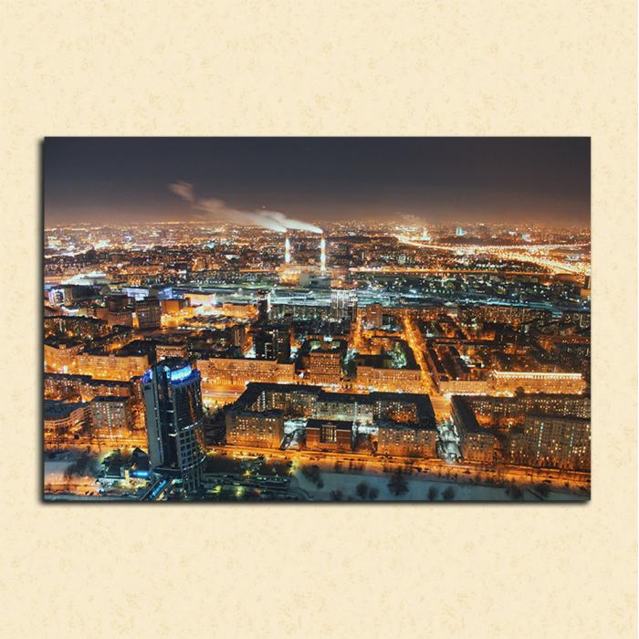 Картина Ночная Москва