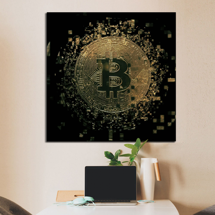 Постер  Биткоин (Bitcoin)