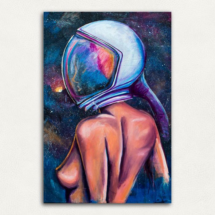 Постер Тени сатурна (девушка космос)