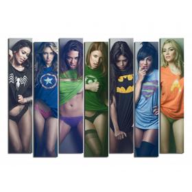 Девушки супергерои(exclusive)