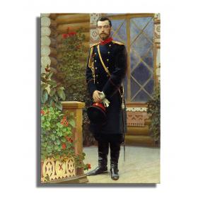 Портрет Николая II - Илья Репин