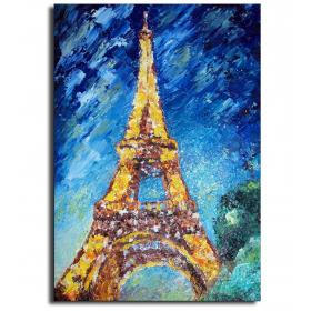 Эйфелева башня - Арт картина