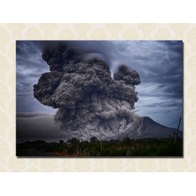 Извержение пепла