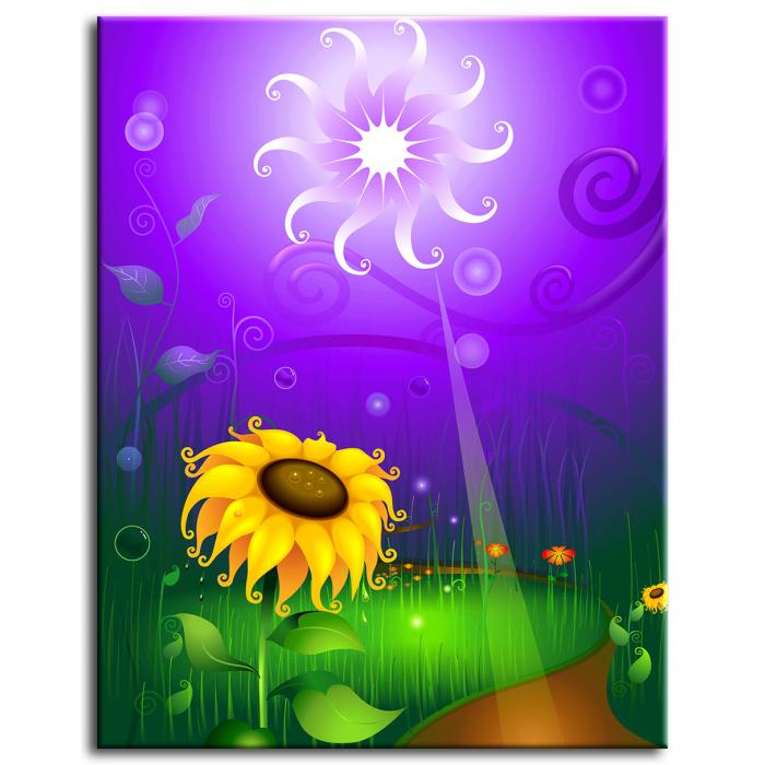 Картина Солнечный цветок
