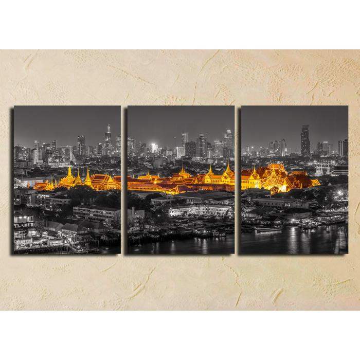 "Модульная картина ""Старый Бангкок"""