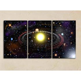 3d планеты, космос