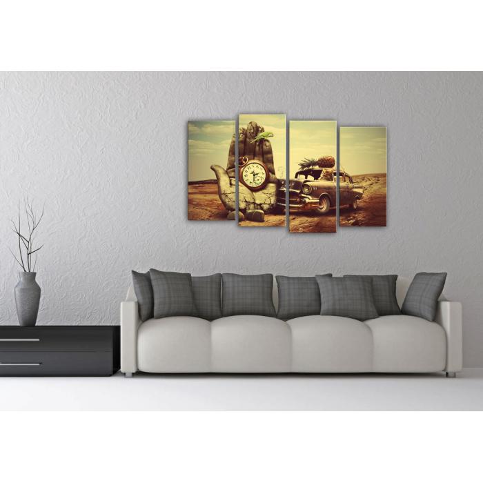 """Модульная картина """"Креатив"""" сюрреализм -   модульный постер"""