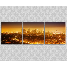 Город в огнях