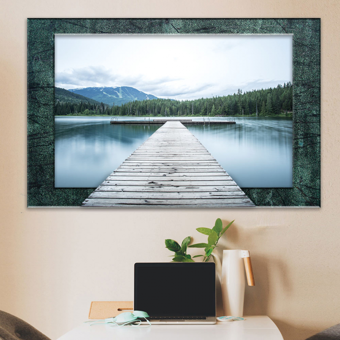 3d картина - Мостик к озеру