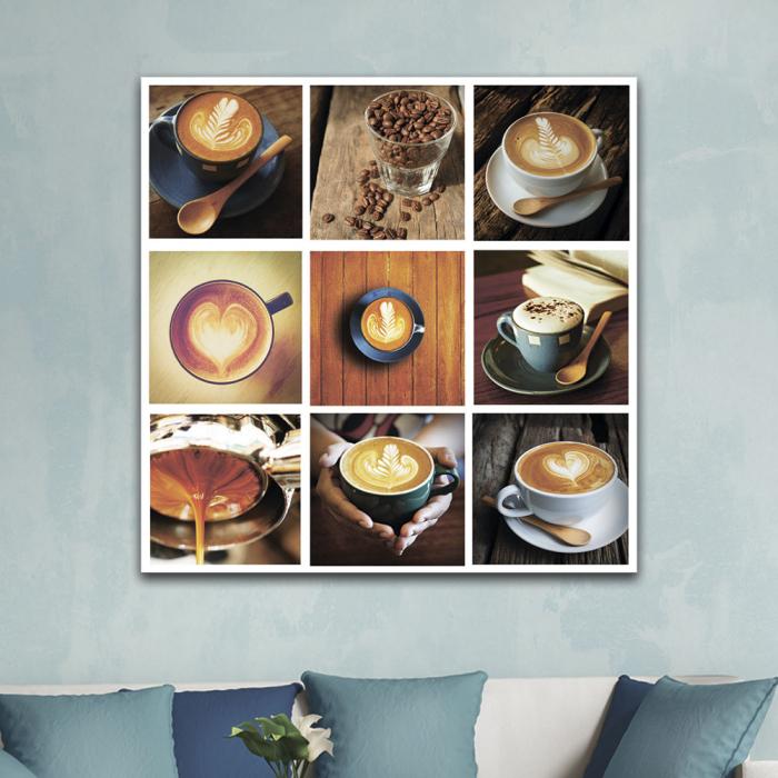 Картина Коллаж кофе