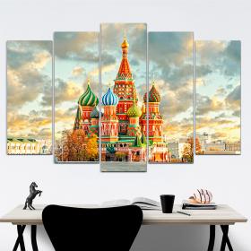 Кремль - Храм Василия Блаженного