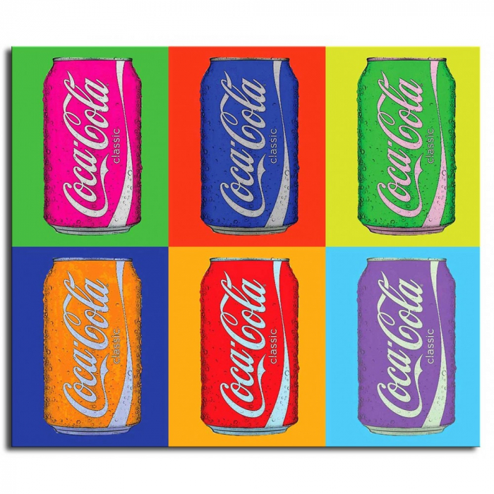 "Постер Поп арт - ""Coca-cola"""