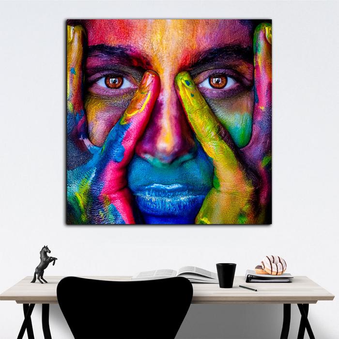 """Постер на стену """"В красках"""""""